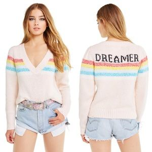 Wildfox Dreamer Marcel Sweater NWT Women's Size L